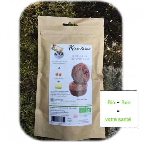 Préparation Bio Moelleux chocolat